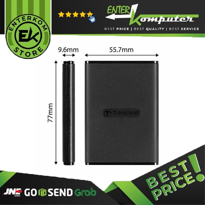 Foto Produk Transcend ESD230C 240GB Portable SSD USB 3.1 dari Enter Komputer Official