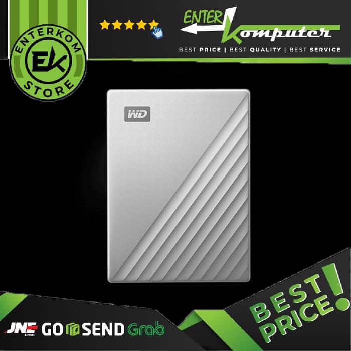 Foto Produk Hardisk Eksternal WD My Passport Ultra - New Model 2TB USB 3.1 Type C dari Enter Komputer Official