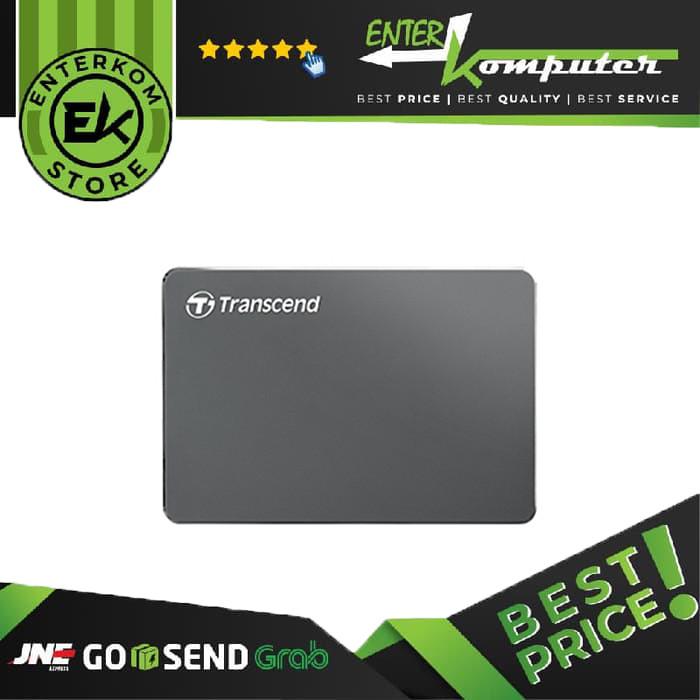 Foto Produk Transcend Storejet 25 C3S 2TB - Ultra Slim - USB Type-C dari Enter Komputer Official