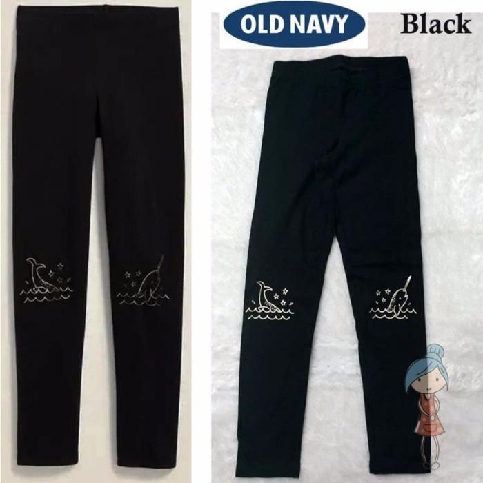 Jual Celana Legging Old Navy Black Whale Anak Perempuan Remaja Dewasa Kab Bogor Izdihaarshop Tokopedia