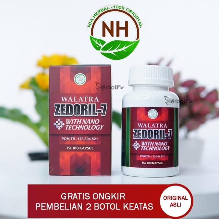 Foto Produk Obat KANKER tenggorokan Walatra ZEDORIL 7 With Naono Technology dari Toko Herbal Nia