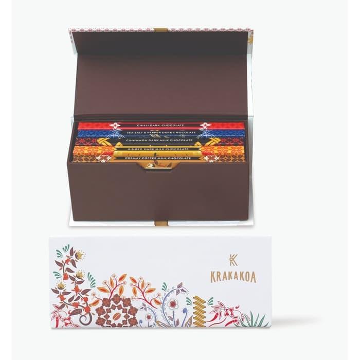 Foto Produk Gift Set Flavour Bar 5 x 50gr dari Krakakoa Official
