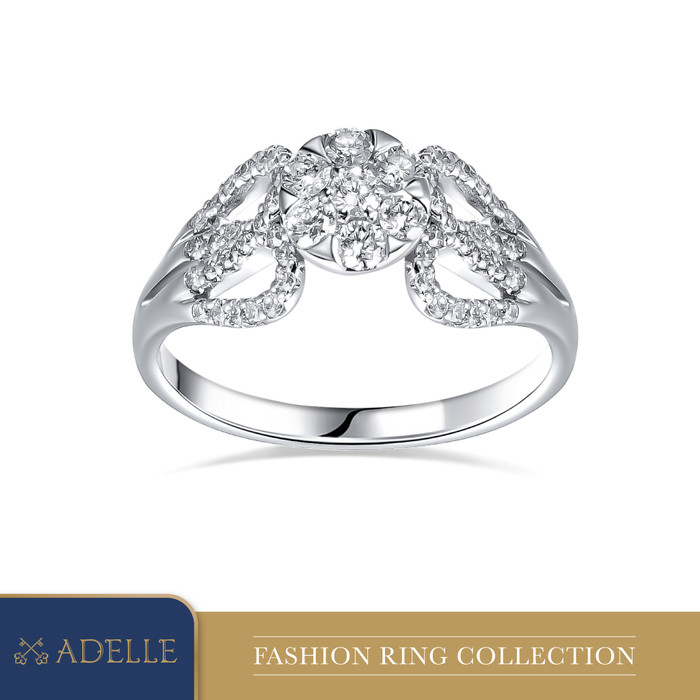 Foto Produk Cincin Berlian Adelle Jewellery - Diamond Ring - 040046 - White Gold, 13 dari Adelle Jewellery