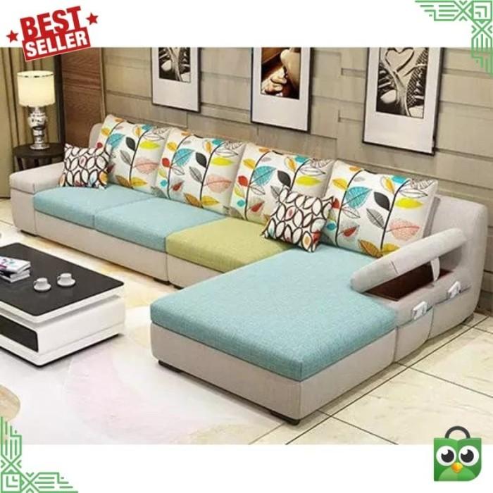 Jual Sofa Minimalis Cocok Untuk Ruang Tamu Kecil Modern Kab Bogor Tri Shop Tokopedia