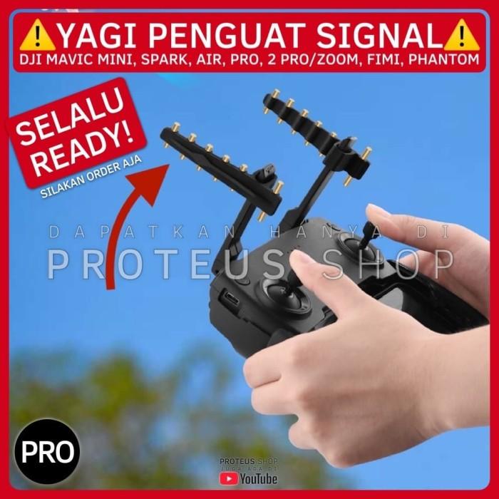 Foto Produk ✅ YAGI PENGUAT SIGNAL BOOSTER DJI MAVIC MINI AIR PRO 2 FIMI PHANTOM dari Proteus Shop