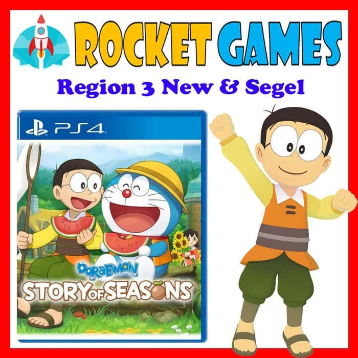 Foto Produk PS4 Doraemon Story of Seasons Game Reg 3 (English) dari Rocket games