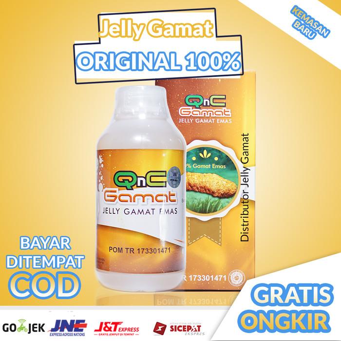 Jual QnC Jelly Gamat Di Jamin Asli / Jeli Gamat / Bukan ...
