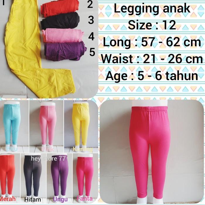Jual Legging Anak Murah Celana Legging Anak Perempuan Jakarta Utara Hey Store 77 Tokopedia