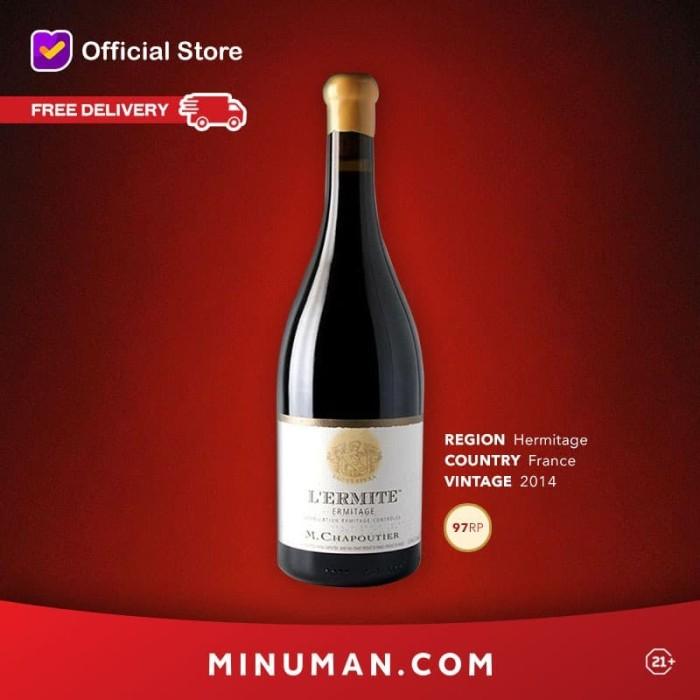 """Foto Produk Chapoutier """"L'Ermite"""" Ermitage Rouge 2014 - 750ml dari minuman_com"""