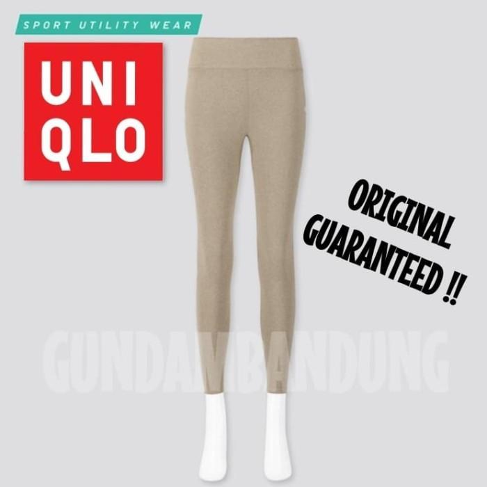 Jual Uniqlo Airism Women Celana Legging Soft Panjang Beige Xl Olahraga Gym Kota Bandung Gundambandung Tokopedia