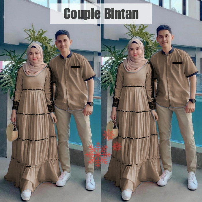 Jual Baju Gamis Couple 2020 Untuk Keluarga Terbaru Remaja Cokelat L Jakarta Pusat Mia Official99 Tokopedia