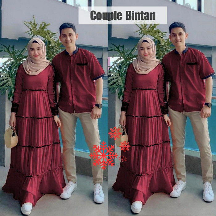 Jual Baju Gamis Couple 2020 Untuk Keluarga Terbaru Remaja Merah L Jakarta Pusat Mia Official99 Tokopedia