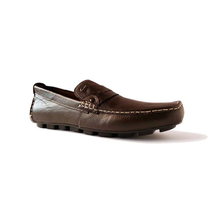 Foto Produk sepatu slip on sepatu kerja sepatu pria sepatu lacoste coklat - 39, Cokelat dari ProvideShoes