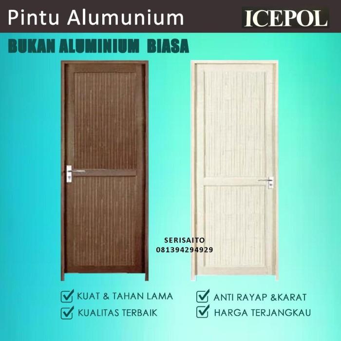 Foto Produk Pintu Full Alumunium / Aluminium + Gagang / Kunci / Hendel /Handle dari serisaito