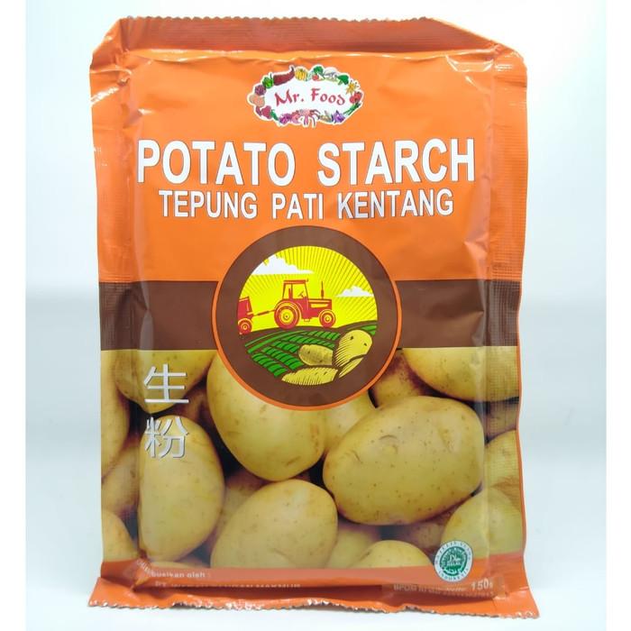 Foto Produk Potato Starch / Tepung Pati Kentang Mr. Food 150gr dari Kantin Organik