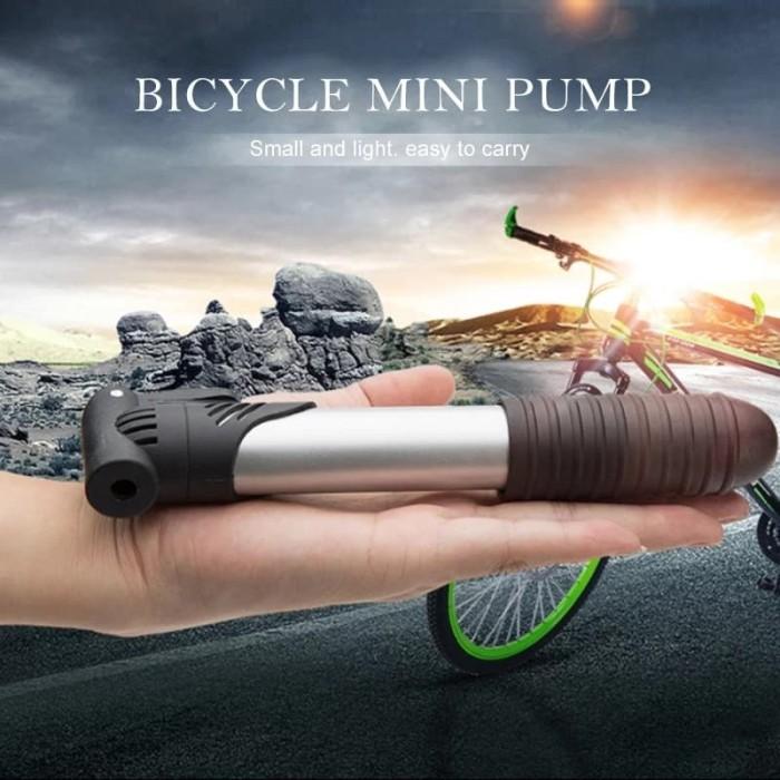 Foto Produk MINI PUMP BICYCLE PORTABLE POMPA ANGIN BAN SEPEDA dari Bro & Sis Jakarta