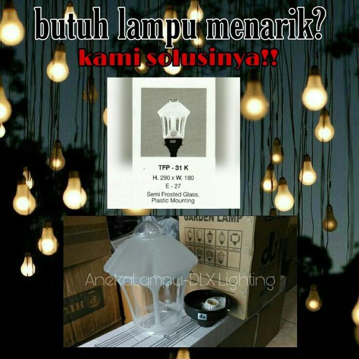 Jual Dlx Lighting Tfp 31k Lampu Taman Pilar Diameter Kaca 18cm Jakarta Timur Accstation Tokopedia
