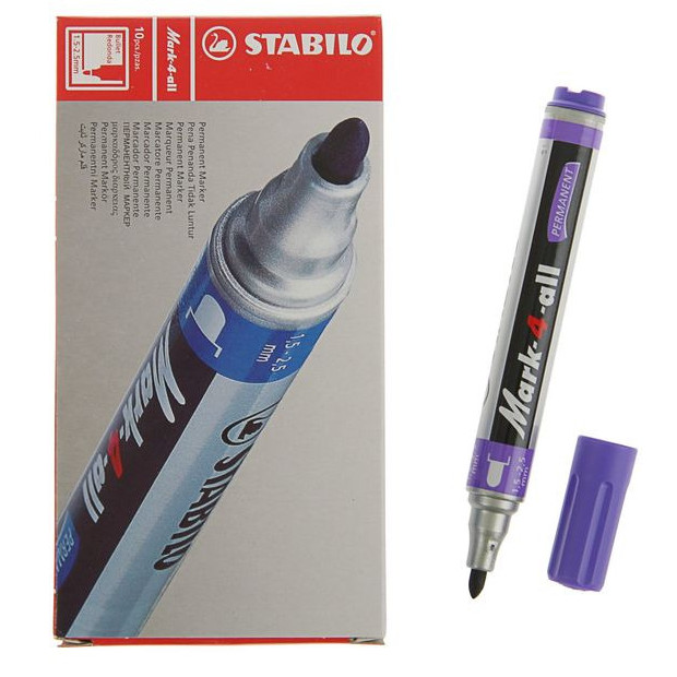 Foto Produk Spidol Permanent Marker Stabilo Mark-4-All -Violet dari officemart