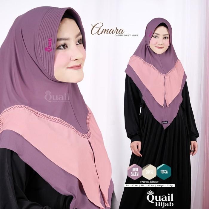 Jual Jilbab Amara By Quail Hijab Kab Sleman Grosir Jilbab Zawa Hijab Tokopedia
