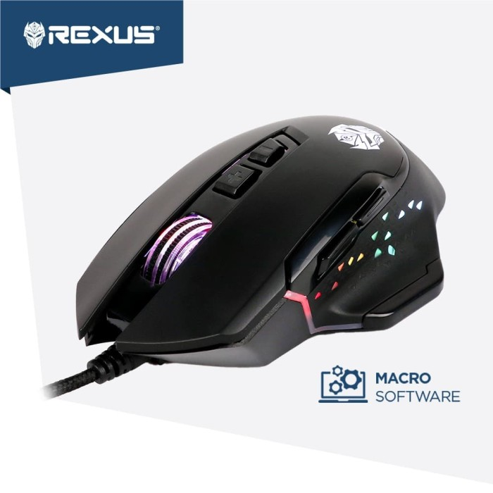 Foto Produk Rexus Mouse Gaming Xierra X8 dari Rexus Official Store