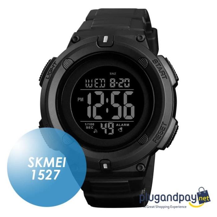 Foto Produk Jam Tangan Digital Waterproof Shockproof Anti Air Arloji SKMEI 1527 dari plugandpay