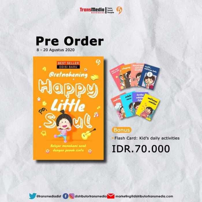 Foto Produk HAPPY LITTLE SOUL (EDISI BARU) + Flash Card - Retno Hening dari TukuGan