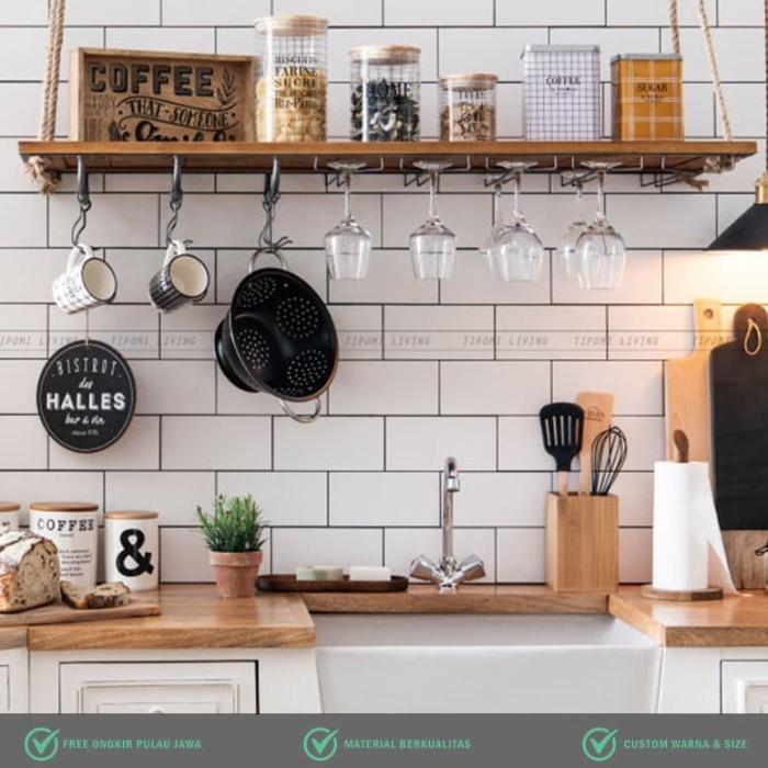 Jual Duran Kitchen Wall Shelf Rak Gantung Dapur Scandinavia Jakarta Barat Tipomi Indonesia Tokopedia