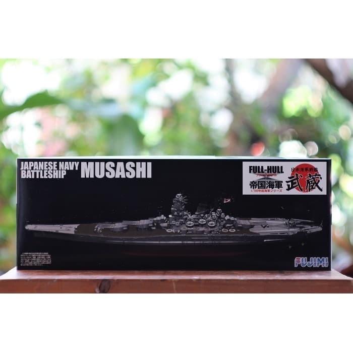 Foto Produk Model kit Fujimi 1/700 Musashi full hull dari rumahmokit