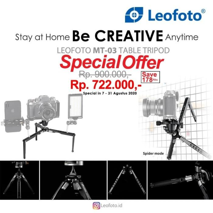 Foto Produk Leofoto mini tripod MT-03 MT03 dari JakartaCamera