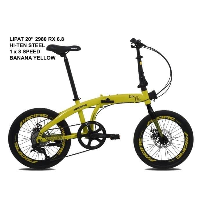 Jual Sepeda Lipat Pacific 2980 Rx 6 8 Size 16 Kota Surabaya Nathanielw Tokopedia