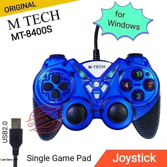 Foto Produk Gamepad single Usb M-Tech/stick laptop/stick pc/joystick dari MULTI KOMPUTER
