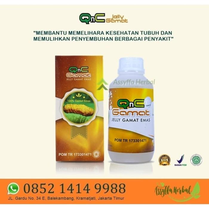 jual obat pengering luka pasca operasi amandel jelly gamat emas gold qnc jakarta timur assyffa herbal tokopedia