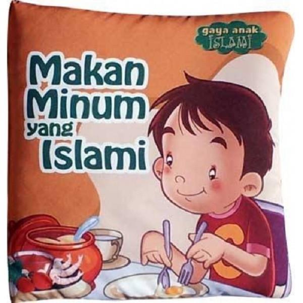 Foto Produk Buku Bantal / Softbook Judul Campur Harga Grosir - Makan Islami dari Wafi Bebe