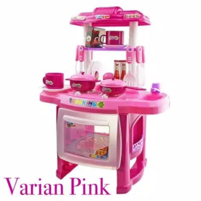 Jual Mainan Anak Kitchen Set Masak Masak Lengkap 24pcs Dengan Music Varian Pink Kota Batam Universalmobile Tokopedia