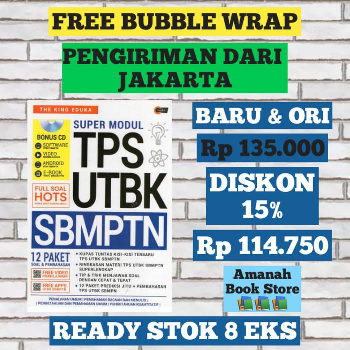 Foto Produk Super Modul TPS UTBK SBMPTN Plus CD 12 Paket Soal & Pembahasan dari Amanah Book Store