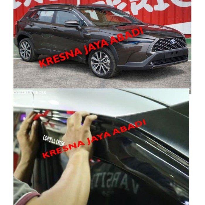 Foto Produk TALANG AIR COROLLA CROSS dari KRESNA CAR ACCESORIES