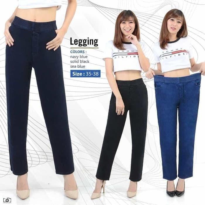 Jual Celana Legging Saya Celana Legging Licin Celana Legging Kekinian Jakarta Barat Fashion Dll Tokopedia