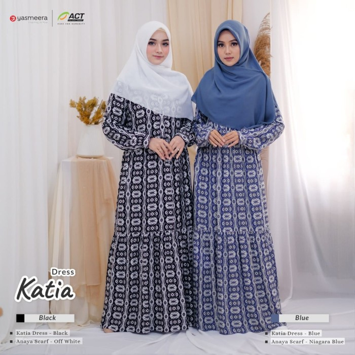 Jual Katia Dress By Yasmeera Gamis Busui Friendly Gamis Yasmeera Black Xl Kab Kediri Gerai Al Rayyan Tokopedia