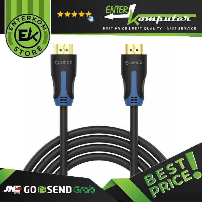 Foto Produk Orico HM14-40 Gold Plated Connectors HDMI HDTV Cable - Black dari Enter Komputer Official