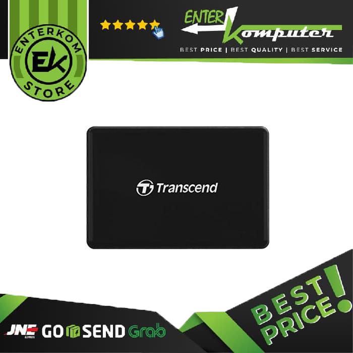 Foto Produk Transcend Card Reader RDC-8 Black USB Type-C dari Enter Komputer Official