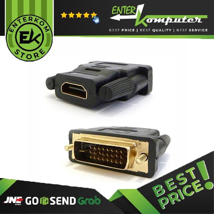 Foto Produk Gender DVI-D To HDMI dari Enter Komputer Official