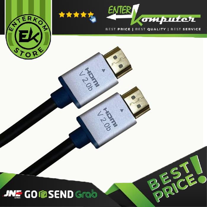 Foto Produk Kabel HDMI To HDMI V2.0b UHD 4K 0.5 Meter (HINEIGHT(H8)) dari Enter Komputer Official