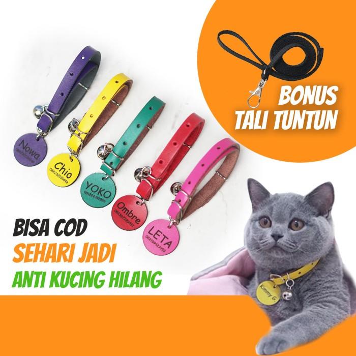 Jual Kalung Kucing Mpuss Pake Lonceng Krincing Gratis Ukir Nama Ungu Kab Bantul Kalung Kucing Meong Tokopedia