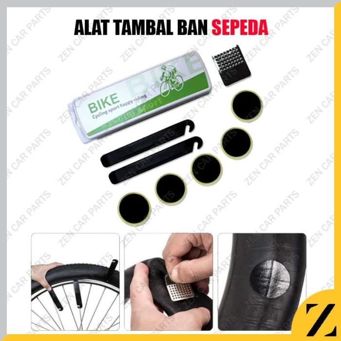 Foto Produk Alat Tambal Buka Ban Dalam Sepeda Congkel Sendok Cold Patch Tip Top dari Zen Car Parts