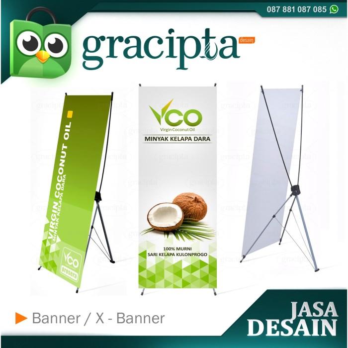Jual Jasa Desain Banner X Banner Untuk Promosi Penjualan Produk Jakarta Barat Gracipta Desain Tokopedia