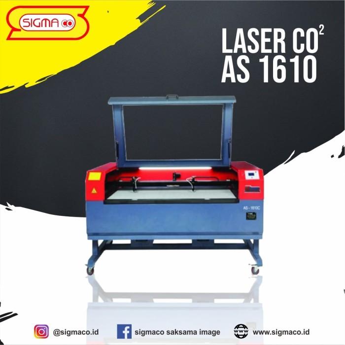 Foto Produk Distributor jual mesin laser cutting grafir AS 1610 - Sigmaco dari pt.sigmaco