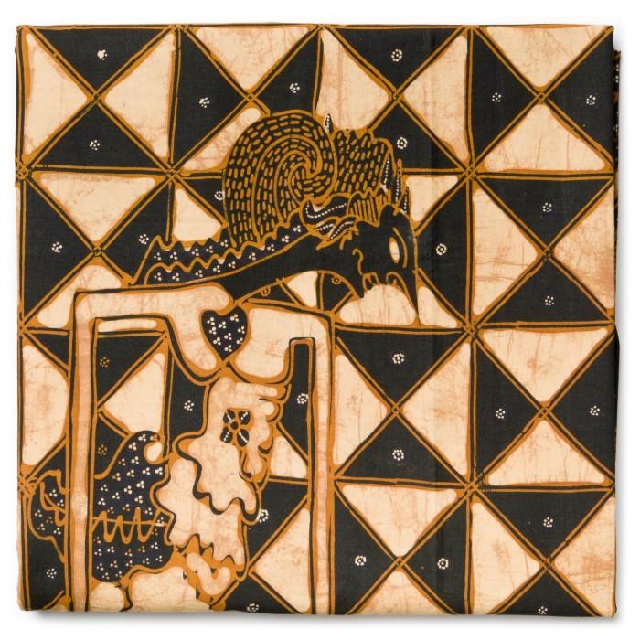 Foto Produk Kain Batik Tulis Sogan Klasik Motif Wayang Latar Slobok dari Kainusa