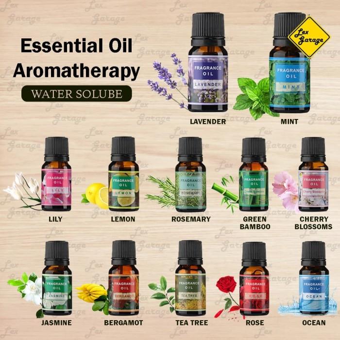 Foto Produk Essential Oil Diffuser Water Solube Aromatherapy Aroma Terapi - Lavender dari Lex Garage