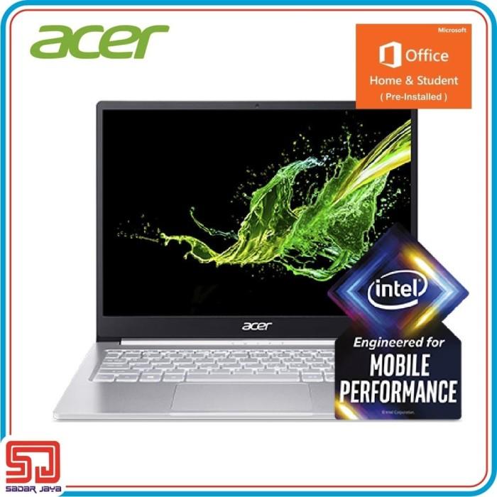 """Foto Produk Acer Swift 3 SF313-52 i7-1065G7, 16GB, SSD 512GB, 13.3"""" QHD, Win10+OHS dari Sadar Jaya Mandiri"""
