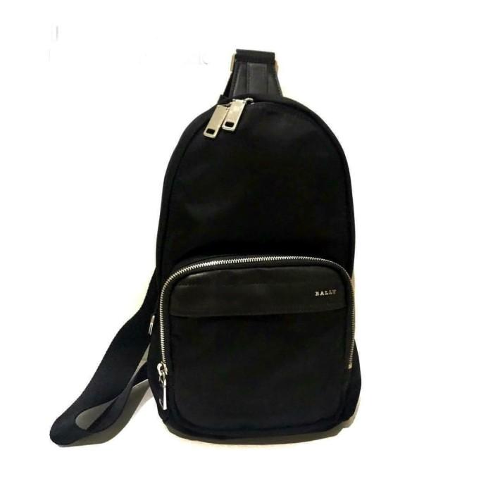 Foto Produk Bally Wolfson Sling Backpack Nylon Black dari Laristie
